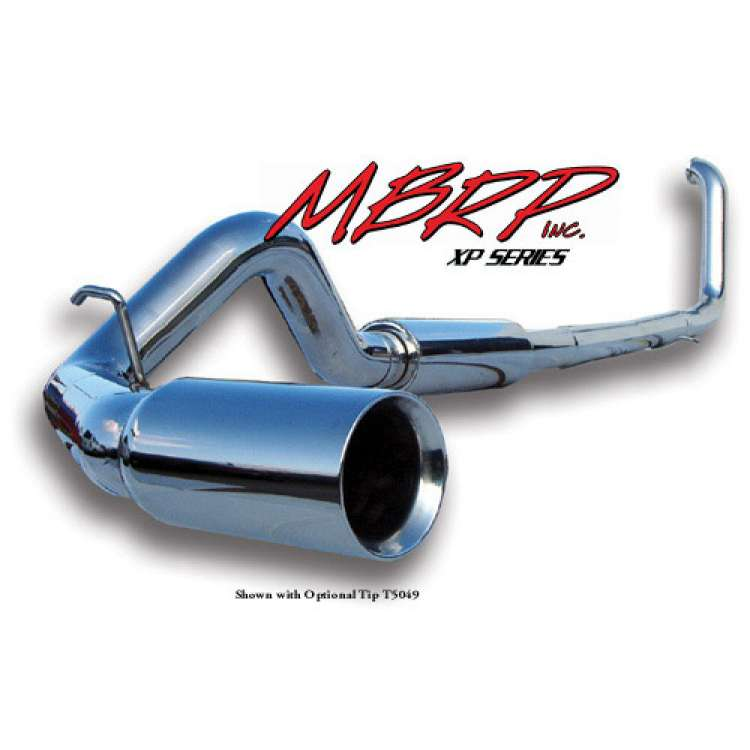 MBRP S6200409 1999-2003 7.3L Powerstroke XP409 4 In Stainless Exhaust