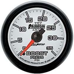 Phantom II Boost Gauge 0-35 PSI 7504