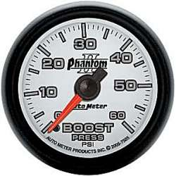 Phantom II Boost Gauge 0-60 PSI 7505