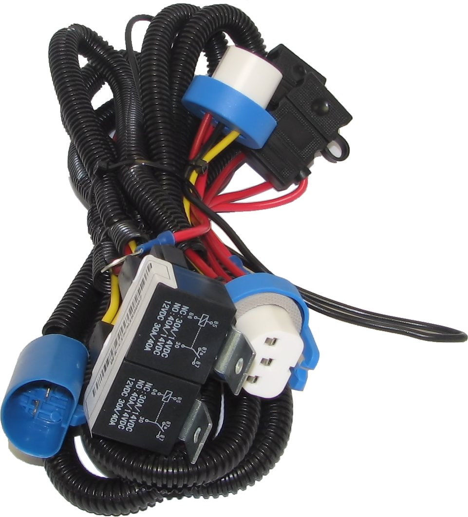 9007 Headlight Heavy Duty Wiring Harness UpgradePure Diesel Power