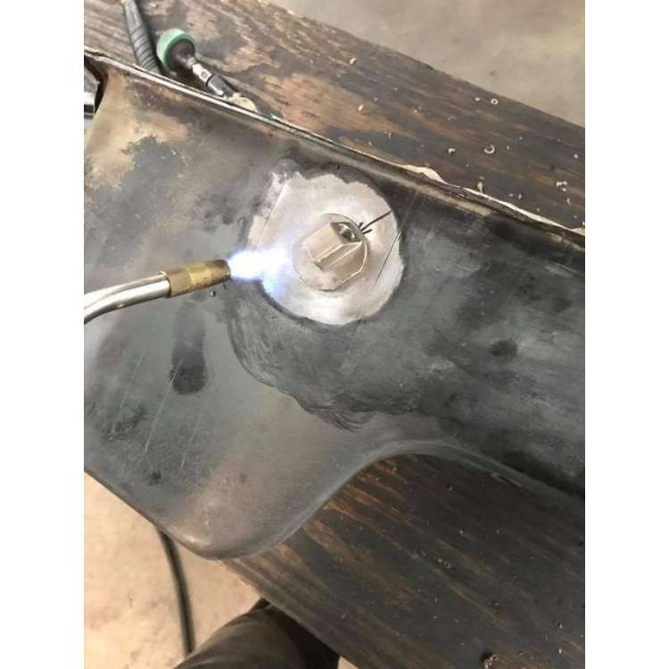 94-03 Ford Morris Motorsports Weld In Dipstick Fix
