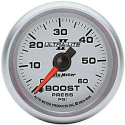 Ultra Lite II Boost Gauge 0-60PSI 4905