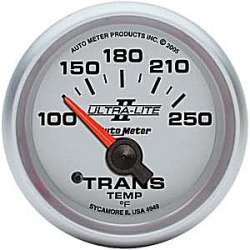 Ultra Lite II Transmission Temperature Gauge 100-250º 4949
