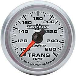 Ultra Lite II Transmission Temperature Gauge 100-260º 4957