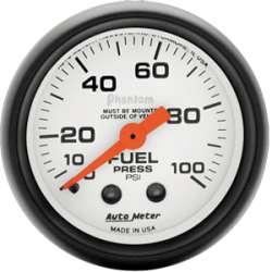 Phantom 0-100 PSI Fuel Pressure Gauge 5712