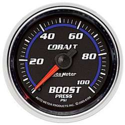 Cobalt Boost Gauge 0-100PSI Non Stepper Motor 6106