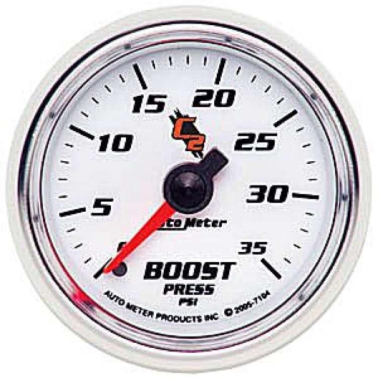 C2 Boost Gauge 0-35PSI Non Stepper Motor 7104