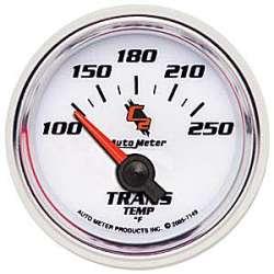 C2 Transmission Temperature Gauge 100-250º 7149