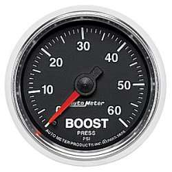 GS Boost Gauge 0-60PSI Mechanical 3805