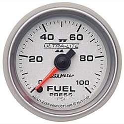 Ultra Lite II Electric Fuel Pressure Gauge 0-100PSI 4963