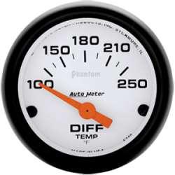 Phantom Differential Temperature Gauge, 90 Degree Sweep 5749