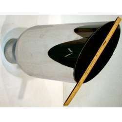 5 Inch Inlet 8 Inch Outlet 18 Inch Length Weld On Chrome Exhaust Tip