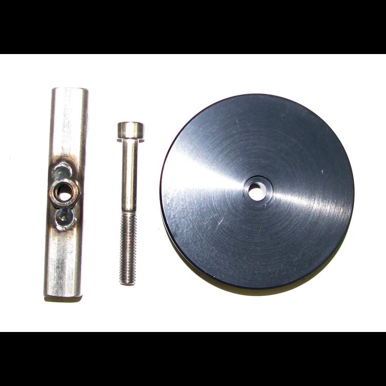 Cummins Aluminum Freeze Plug with bar 89-07 5.9L Dodge