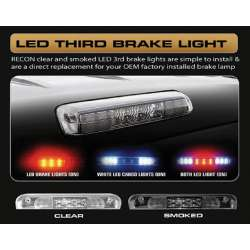 99-08 F250-F550 Recon 3rd Brake Light LED Brake & Cargo-Smoked