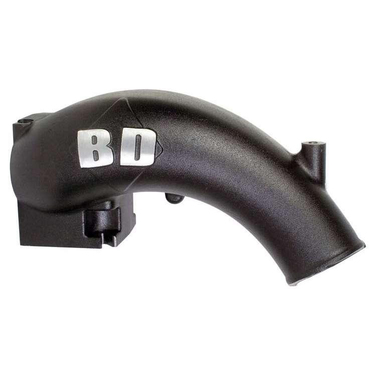 BD 03-07 Commonrail Cummins X-Flow Power Intake Elbow Black Finish