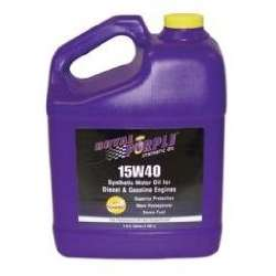 Royal Purple Synthetic 15W40 Multi-Grade Engine Oil 1 Gallon Bottle
