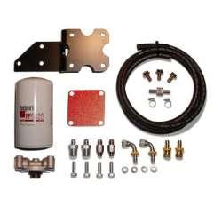 07.5-09 Dodge 6.7L Cummins Diesel 2 Micron Filter System & Big Line Kit