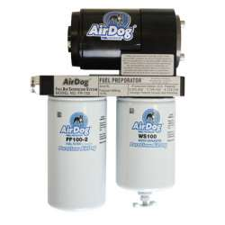 Airdog 150GPH Fuel Filter Preporator System 03-07 Ford 6.0L Powerstroke Diesel