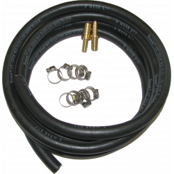 6.0L Transmission Cooler Hose Adapter Kit to Install in 7.3L Truck