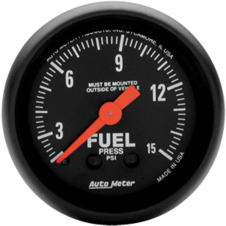 Z Series Fuel Pressure Gauge 0-15 PSI 2603