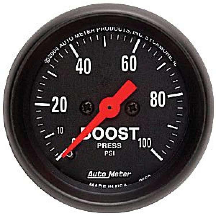 Z Series Boost Gauge 0-100 PSI 2618