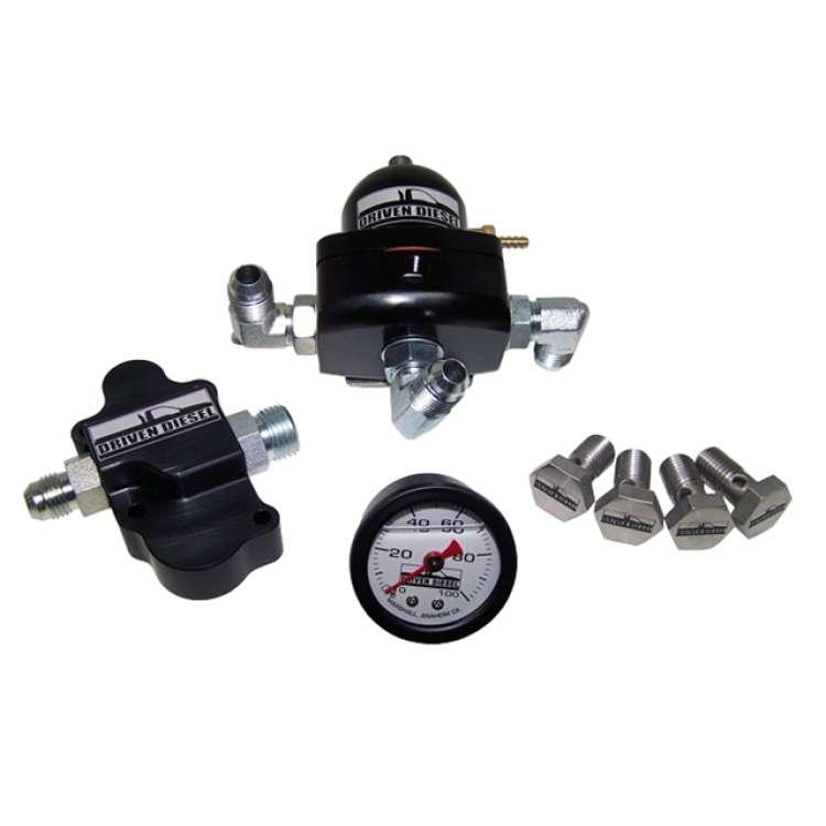 03-07 Ford 6.0L Powerstroke Driven Diesel Regulated Return Kit