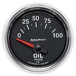 GS Mechanical Oil Pressure 0-100 PSI 3827