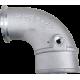 HX35/HX40/S300 Turbo Compressor 90° Air Transfer Tube Elbow