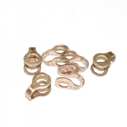 94-98 Dodge 5.9L 12V Cummins Injector Return Line Horseshoe-Shaped Washers (6)