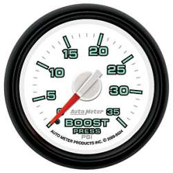 Dodge Factory Match 0-30PSI Electric Fuel Pressure Gauge 8560