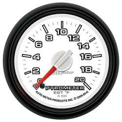 Dodge Factory Match Pyrometer 0-2000 Degrees 8545