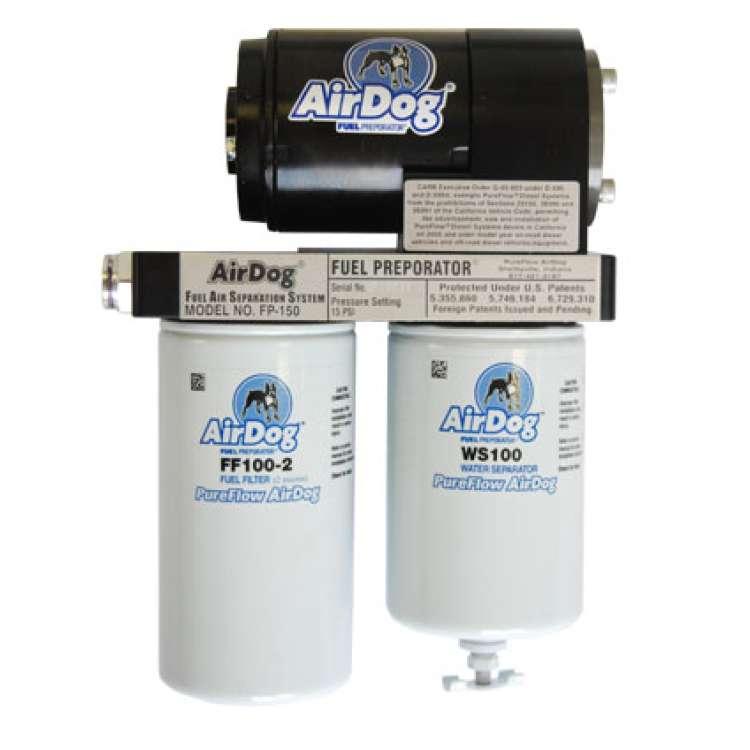 01-10 Chevy 6.6L Duramax 100GPH Airdog Fuel Filter/Pump System