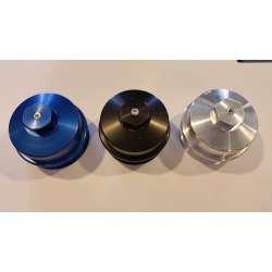 03-10 Ford 6.0L/6.4L Powerstroke Diesel Billet Fuel/Oil Filter Cap