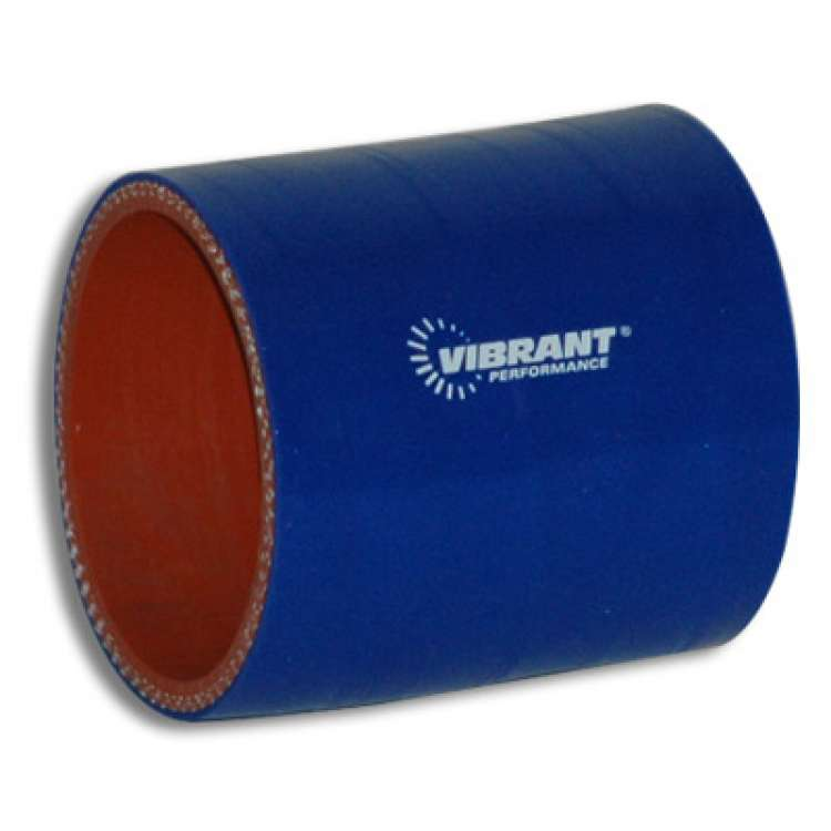 Vibrant Performance 4 Ply Silicone Sleeve, 2.5 In I.D. x 3 In Long