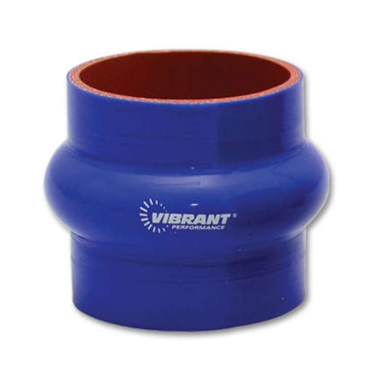 Vibrant Performance 3.5 In I.D. x 3 In Long 4 Ply Hump Hose