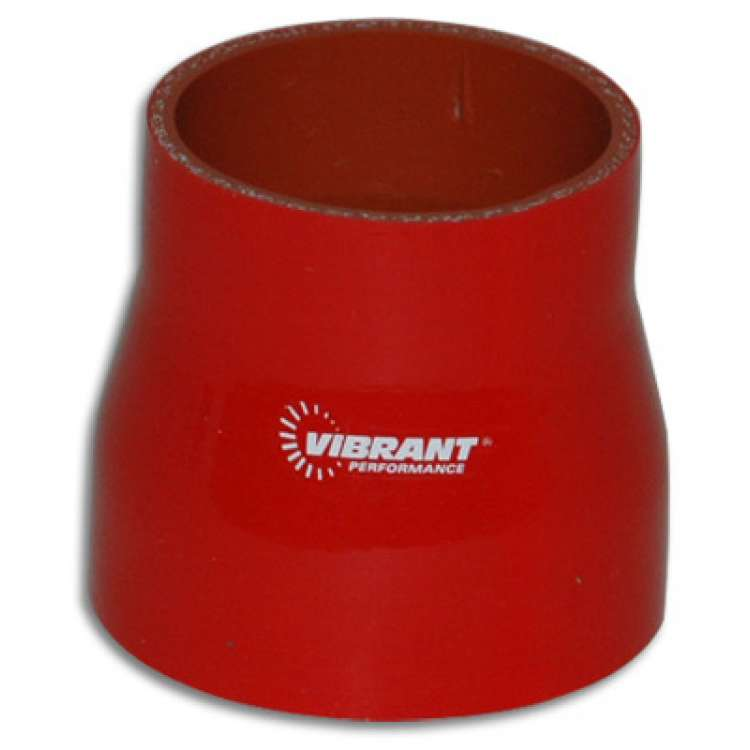 Vibrant Performance 3 In x 4 In x 3 In Long 4 Ply Reducer Coupling