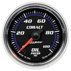 Cobalt 0-100 Oil Pressure Gauge Stepper Motor 6153