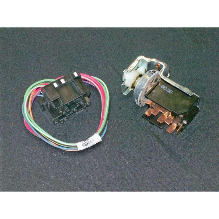 94-97 Dodge Ram OEM Updated Headlight Switch with Harness