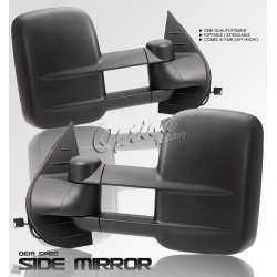 99-02 Chevy Silverado 1500/2500/3500 OEM Quality Power/Heated Towing Mirrors