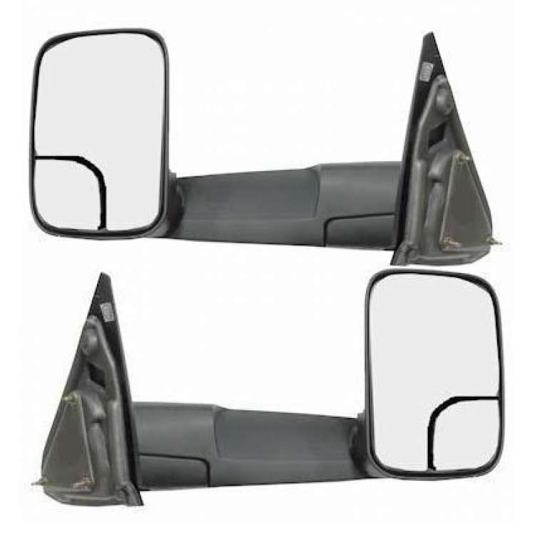 03-09 Dodge Ram 2500/3500 OEM Non-Power Towing Mirrors