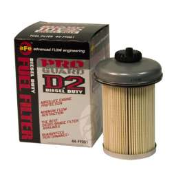 92-2000 GM 6.5L Diesel AFE 44-FF001 Pro-Guard D2 Fuel Filter