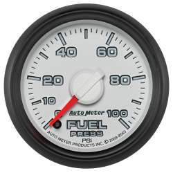 Dodge Factory Match 0-100PSI Electric Fuel Pressure Gauge 8563