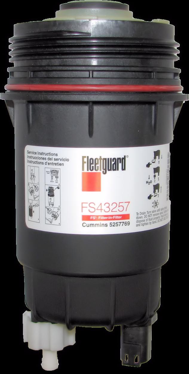 6 7l Cummins Fleetguard Fs43257 Fuel Filter Upgrade