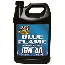 Champion Blue Flame Synthetic Blend Diesel Engine Oil - 15W40 -4 Gallons