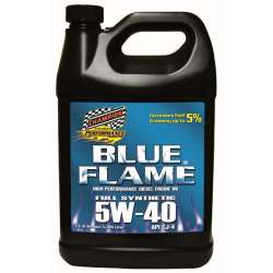 Champion Blue Flame Synthetic Diesel Engine Oil - 5W40 -4 Gallons
