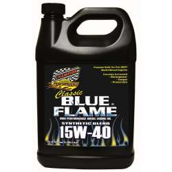 Champion Classic Blue Flame Synthetic Blend Diesel Engine Oil - 15W40 -4 Gallons