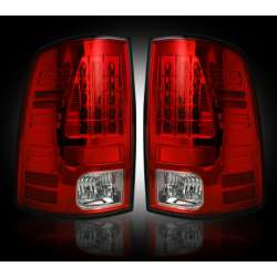 2010-2012 Dodge Ram 2500/3500 Recon Red LED Tail Lights