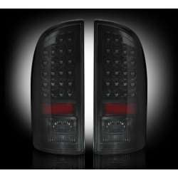 2003-2006 Dodge Ram 2500/3500 Recon Smoked LED Tail Lights