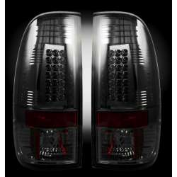 2008-2012 Ford Superduty Recon Smoked LED Tail Lights