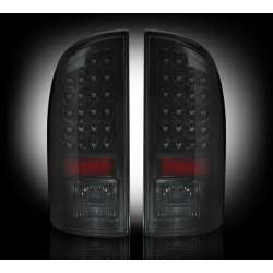 2007-2009 Dodge Ram 2500/3500 Recon Smoked LED Tail Lights